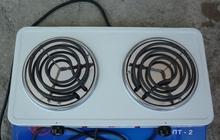 Электрическая плита двухкомфорочная - новая