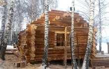 Деревянный сруб под заказ из сибирской сосны, кедра, лиственницы