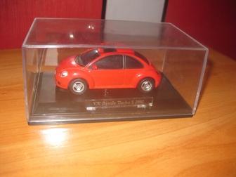 Новое foto Коллекционирование Wolkswagen New Beetle Б/У + бокс , 55841414 в Красноярске