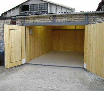 Изображение в Строительство и ремонт Другие строительные услуги Ремонт гаражей. Строительство гаражей, бань, в Красноярске 0