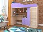 Продам детскую кровать, шкаф, стол