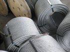 Скачать фото  Канат стальной ГОСТ 3062 80 ф 0,65 - 11,5 мм для растяжки и такелажа 34145485 в Орле