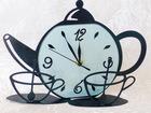 Уникальное изображение  Часы в виде чайника Coffe time 38625646 в Москве