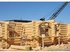Новое фото  Дома бани из бревна оцилиндрованного и рубленного 38782381 в Брянске