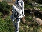 Скачать фотографию  Скульптура из бетона Девушка на подиуме 54 см, Ф43 см, 38790147 в Мытищи