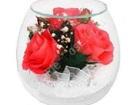 Скачать изображение  Цветы в стекле, Артикул: В010 39526708 в Иркутске