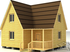 Свежее foto  Дома и бани из бруса — строительство и продажа загородной недвижимости в Московской области 68168188 в Егорьевске