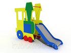 Новое изображение  Игровая детская горка Паровозик , высота 750 мм 68522885 в Кургане