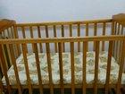 Кровать-маятник с матрацом