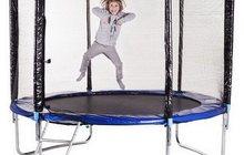 Батут для активного отдыха детей и взрослых, сборные модели от 150 до 490 см от импортера