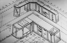 Услуги по дизайн-проекту кухни