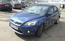 Ford Focus, 2009г, 1,8/125, 83500км, седан, синий, 2-й хозяин