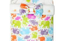 Конверт на выписку для новорожденного Futurmama Color Elefant