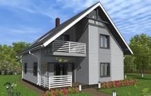 Timberdom, Каркасный дом Лехти131