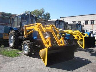 Увидеть изображение Спецтехника Трактор коммунальный Мк-3 на базе трактора Мтз-82 (Погрузчик, Щётка) 33309618 в Кургане