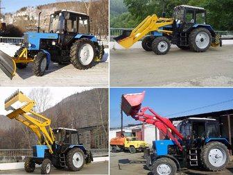 Просмотреть фотографию Спецтехника Трактор коммунальный Мк-3 на базе трактора Мтз-82 (Погрузчик, Щётка) 33309618 в Кургане