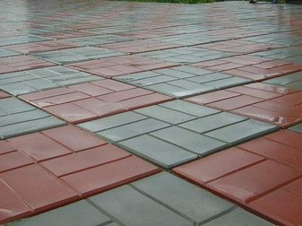 Просмотреть фото Строительные материалы Тротуарная плитка Восемь кирпичей  34023007 в Кургане