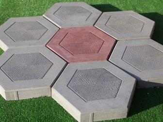 Уникальное изображение Строительные материалы Тротуарная плитка Шестигранник 34023042 в Кургане
