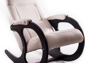 Новое фотографию  Кресло-качалка Бастион - крепкое и надёжное, Отличный подарок! Розница, опт, 34518091 в Москве