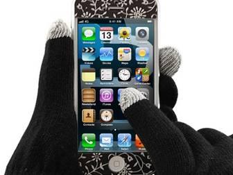 Уникальное фотографию  Перчатки для тач экранов 37996536 в Москве