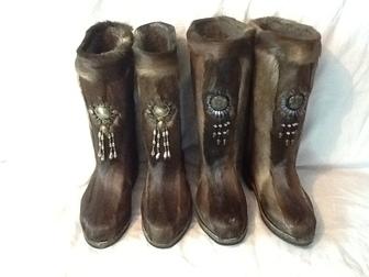 Новое изображение  Меховая обувь, пимы, унты, из камуса северного оленя 38024111 в Кургане