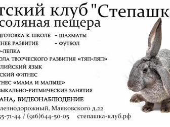 Скачать бесплатно foto  Детский клуб Степашка в Железнодорожном 38693605 в Москве