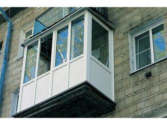 Скачать бесплатно фото  Остекление балкона под ключ, Цены на остекление 39342030 в Москве