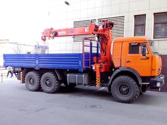 Новое фото  Услуги автокрана и манипулятора 39570115 в Москве