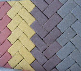 Фото в Строительство и ремонт Строительные материалы Тротуарная плитка Брусчатка (кирпичик)вибропрессованн в Кургане 500