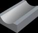 Фото в Строительство и ремонт Строительные материалы Лоток Водосточный прикромочный тротуарный. в Кургане 0