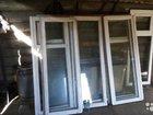 Окна деревянные остекленные