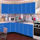 Кухня Радуга 4,3 м синяя в наличии