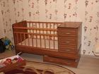Смотреть фотографию Отдам даром - приму в дар детская кроватка 34960839 в Липецке