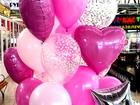 Свежее фото  Гелиевые шары на любой праздник(свадьба,выписка из роддома,день Рождение) 68017554 в Липецке