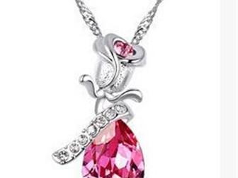 Свежее фото Ювелирные изделия и украшения Кристалл, Ожерелье Angel Tears 39076345 в Липецке