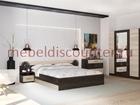 Изображение в Мебель и интерьер Мебель для спальни Новый в упакковке с кровать 1600мм шкаф 1600 в Люберцы 9985