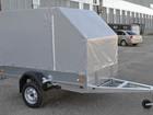 Новое изображение Прицепы для легковых авто Автомобильный прицеп ССТ-7132-06 43900486 в Лобне
