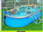 Фото в Для детей Разное бассейн интекс 3*6 один сезон эксплуатац в Магнитогорске 20000