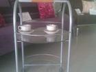 Увидеть foto Мебель для гостиной Продам сервировочный стеклянный столик  82552990 в Магнитогорске