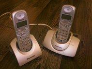 Продам телефон Panasonic KX-TG1105RU c 2-мя трубками