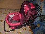 Коляска + кроватка в подарок Продам детскую коляску зима-лето в отличном состоян