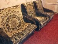 Диван и 2 кресла Продам небольшой диван (для сада или для ребенка) и 2 кресла.