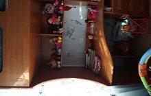 детская стенка с кроватью