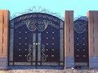 Ворота кованые арт. E 867