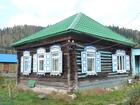 Скачать фото  Дом в живописном месте на высоком берегу реки Томи, 38814648 в Междуреченске