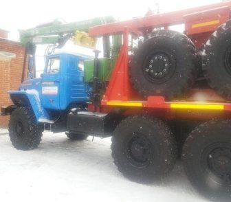 Изображение в   Лесовозный тягач базе автомобиля Урал 55571-1151-70M, в Миассе 3470000