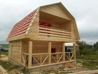 Уникальное фото  Дачный недорогой Дом из бруса с доставкой,установкой по Беларуси 39065109 в Минске