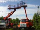 Просмотреть фотографию Строительство домов Аренда автовышки 18-28 м большая люлька-балкон 32960960 в Москве