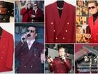 Скачать бесплатно фотографию  Малиновый пиджак 90-х в аренду, напрокат 37523937 в Москве