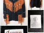 Свежее фото Мужская одежда Ковбойская винтажная замшевая куртка, Новая, USA 37540262 в Москве